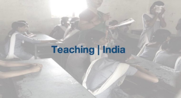 Teaching of English – Mary's Matriculation, India